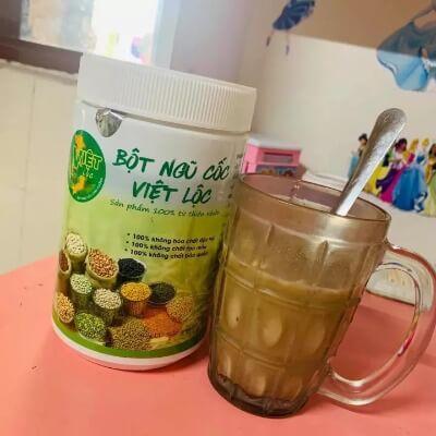 Việt Lộc là sản phẩm 100% từ thiên nhiên được nhiều bà mẹ tin dùng