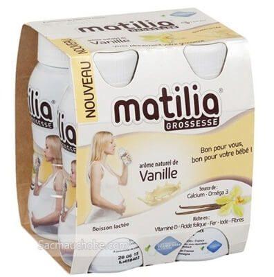 Sữa vị vani cực kì thơm ngon và nịnh miệng mẹ bầu