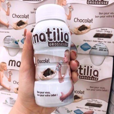 """Sữa bầu Pháp Matilia vào con chứ không làm """"béo mẹ"""""""