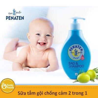 Loại sữa tắm này giúp bé tăng sức đ� kháng, chống cảm hiệu quả