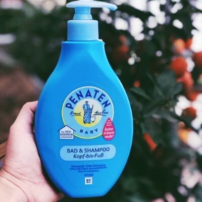 Sữa tắm gội của �ức Penaten sở hữu nhi�u công dụng cực kì ấn tượng