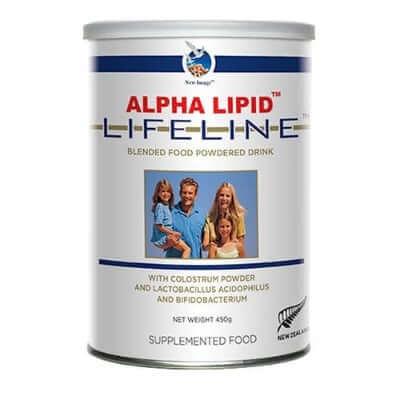 Alpha Lipid Lifeline chăm sóc sức khỏe toàn diện cho bé