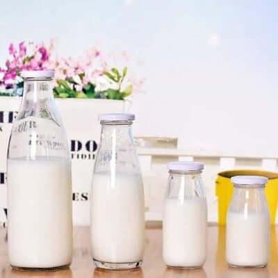Bình đựng sữa hạt bằng thủy tinh
