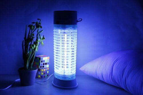 Đặt đèn bắt muỗi ở khoảng cách, vị trí phù hợp