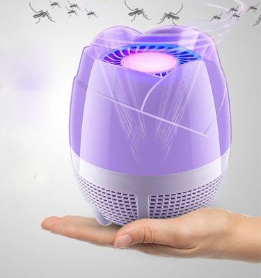 Đèn bắt muỗi giúp tiêu diệt muỗi, lại an toàn, thân thiện