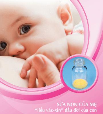 Những giọt sữa vàng, sánh của mẹ là liều vacxine an toàn cho con