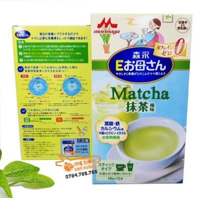 Sữa bầu vị matcha trà xanh được yêu thích bởi hương vị thơm ngon, thanh mát