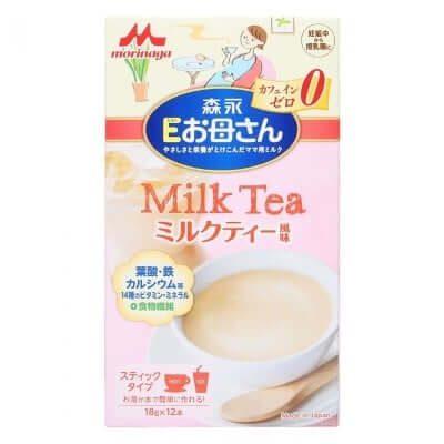"""Sữa bầu Nhật Bản Morinaga vị trà sữa ngon không cưỡng nổi, """"nghén vẫn nghiện� nha!"""