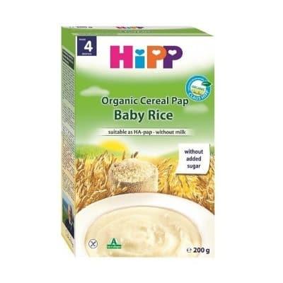 Bột cho bé ăn dặm Hipp organic có hương vị dễ ăn