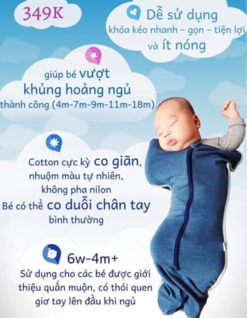 Có nên cho trẻ sơ sinh dùng nhộng quấn?