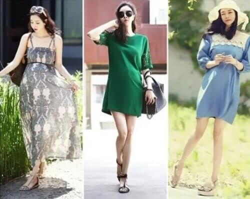 Váy bầu cho mẹ bầu cảm giác thoải mái và tự tin