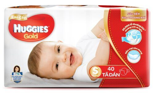 Huggies gold