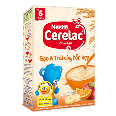 Nestle gạo và trái cây