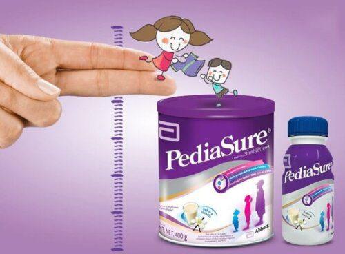 Pediasuse hỗ trợ tăng trưởng chiều cao