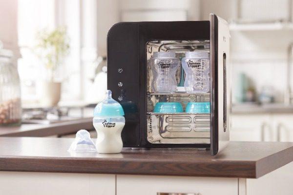 Bình sữa siêu chống đấy hơi kèm cảm biến nhiệt Tommee Tippee Advanced Anti-Colic