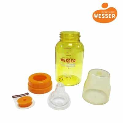 Bình sữa chống sặc Wesser kháng khuẩn tốt