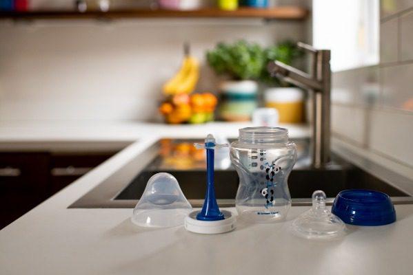 Cấu tạo của bình sữa Advanced Anti-Colic