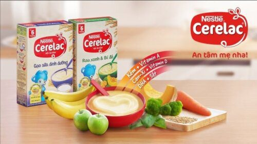 Bột Nestle - lựa chọn tối ưu cho bé