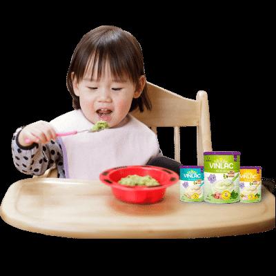 Bổ sung dưỡng chất cho bé phát triển toàn diện