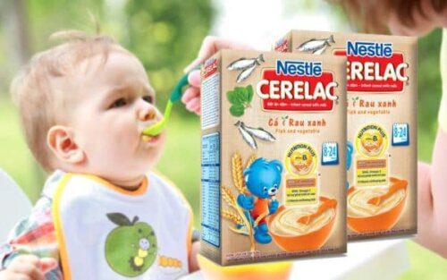 Bột ăn dặm Nestle là sản phẩm của tập đoàn Nestle từ Thụy Sĩ