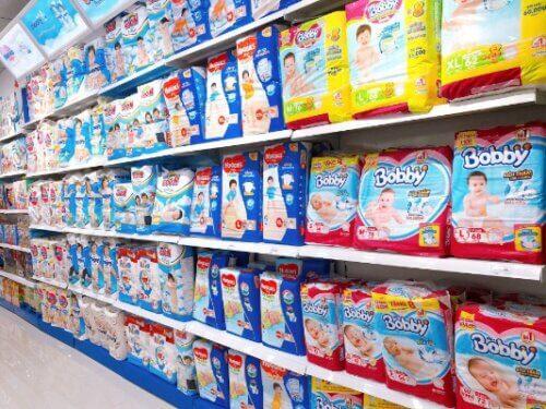 Sản phẩm có bán ở hầu hết các cửa hàng, siêu thị