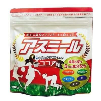 Sữa Asumiru giúp bé phát triển chiều cao vượt trội