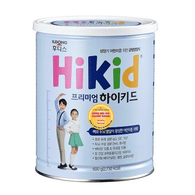 Sữa Hikid Premium giúp tăng trưởng chiều cao