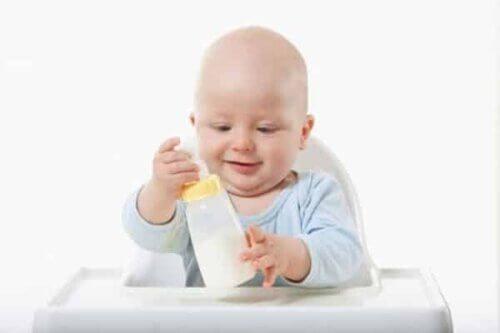 Sữa phát triển chiều cao cho trẻ dưới 12 tháng tuổi