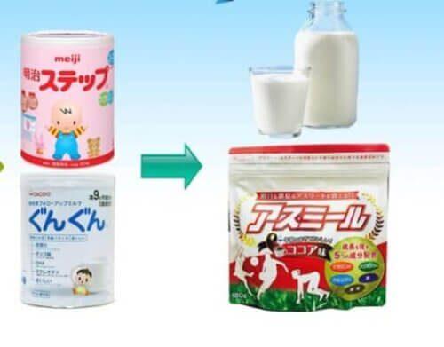 Sữa phát triển chiều cao của Nhật luôn được ưa chuộng