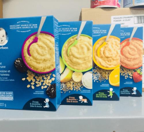 Sản phẩm thuộc tập đoàn Nestlé Hoa Kỳ