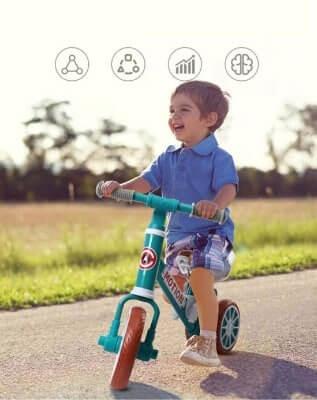 Loại xe mang đến nhiều lợi ích giúp bé phát triển về thể chất lẫn nhận thức