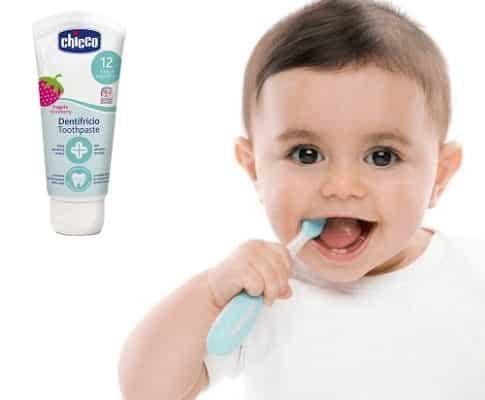 Kem đánh răng cho trẻ 1 tuổi nuốt được, an toàn