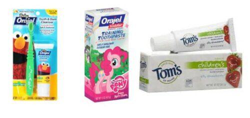 Kem đánh răng của Mỹ cho bé khá được ưa chuộng