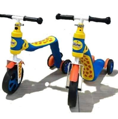 Xe Scooter 2 trong 1 Grow cho bé