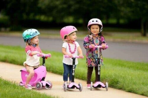 Xe Scooter cho bé 3 tuổi