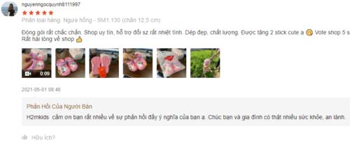 Sản phẩm nhận được nhiều phản hồi tích cực trên Shopee
