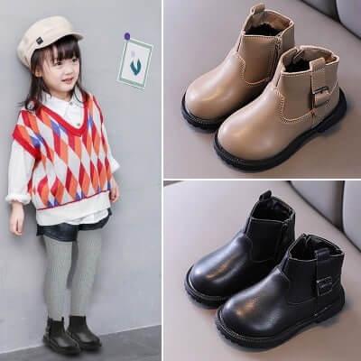 Giày boot cho bé gái