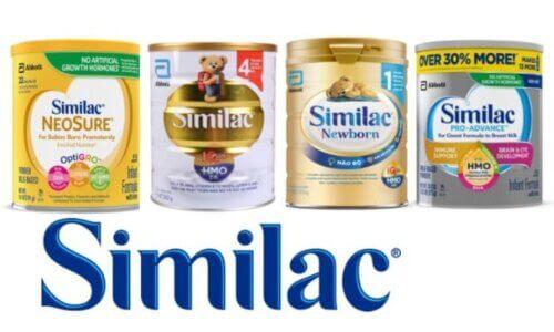 Các sản phẩm sữa Similac tốt nhất cho bé sơ sinh