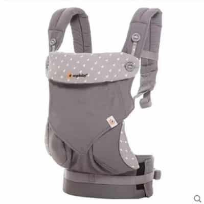Địu Ergo Baby 360 thiết kế đơn giản mà tiện lợi
