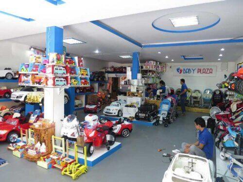 Sản phẩm có bán ở các cửa hàng đồ mẹ và bé