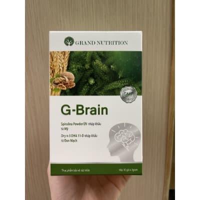 Sản phẩm cốm G-Brain mình chỉ mới sử dụng được 3 - 4 tháng