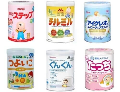 Sữa giúp trẻ tăng cân và phát triển toàn diện của Nhật