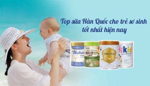 Top thương hiệu sữa nổi tiếng cho trẻ của Hàn Quốc