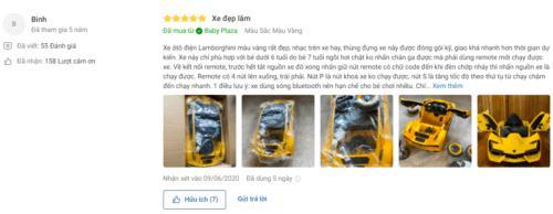 Sản phẩm nhận được nhi�u l�i khen ngợi của ngư�i dùng trên Tiki.vn