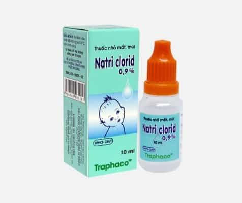Dung dịch Natri clorid 0.9% của Việt Nam