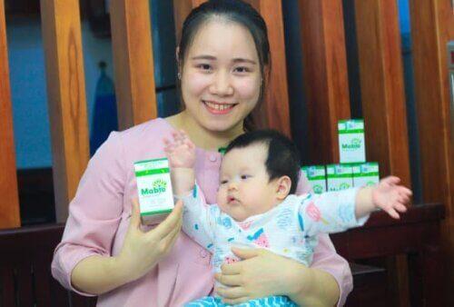 Viên uống giúp cải thiện chất lượng sữa mẹ cho bé nhà mình lớn nhanh kh�e mạnh