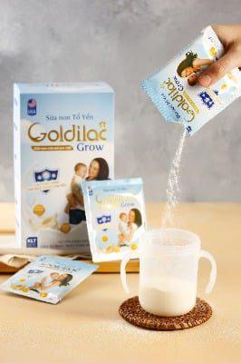 Thành phần chứa sữa ngon thuần khiết và tinh chất tổ yến