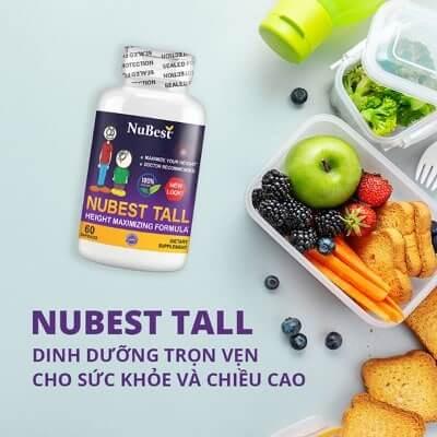 Nubest Tall - sản phẩm nổi tiếng của Mỹ