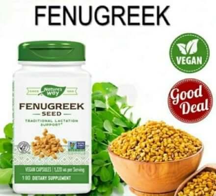 Viên lợi sữa c� cà ri Fenugreek Seed nổi tiếng của Mỹ