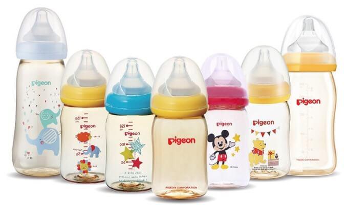 Bình sữa Pigeon của Nhật